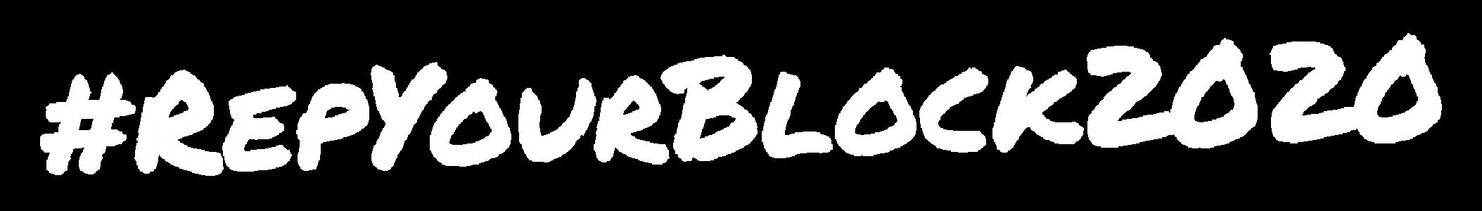 #RepYourBlock2020
